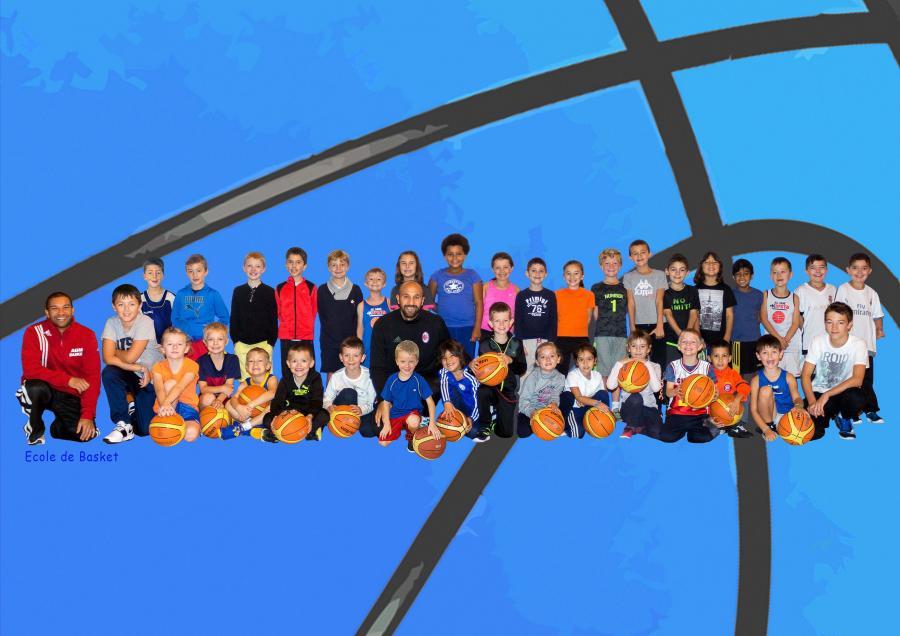 Ecole de Basket 2017-2018